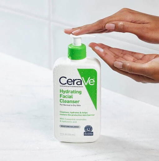 Review sữa rửa mặt Cerave Hydrating Cleanser